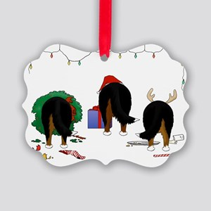 Berner Christmas Picture Ornament