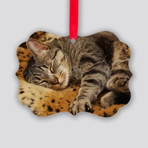 Sleeping Bud Picture Ornament