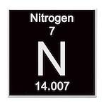 Periodic Table Nitrogen Tile Coaster