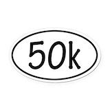 50k Oval Car Magnets