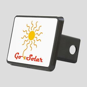 Go Solar Rectangular Hitch Cover