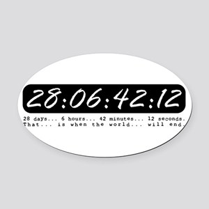 DARKO: 28:06:42:12 Oval Car Magnet