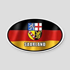 Saarland coat of arms (white letters)