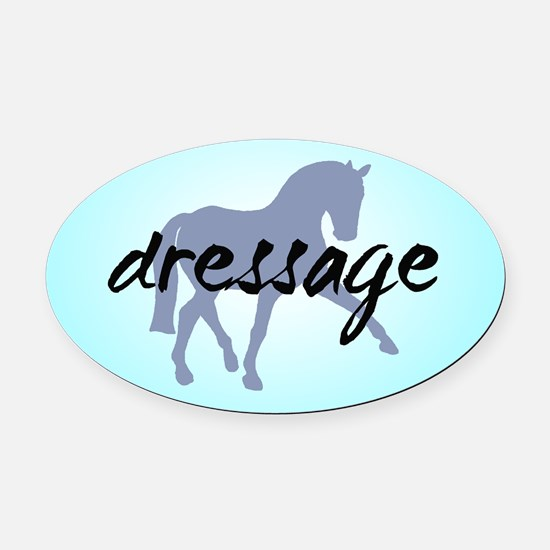 Sidepass w/ Text (blue) Oval Car Magnet