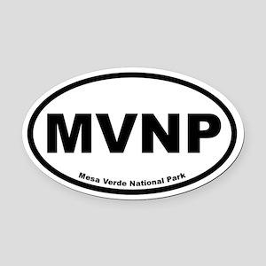Mesa Verde National Park Oval Car Magnet