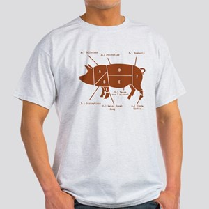 Delicious Pig Parts! Light T-Shirt
