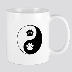 Yin Yang Dog Paw Mugs