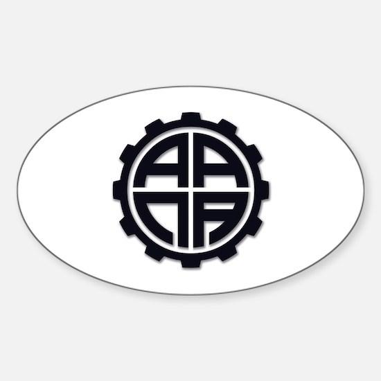 AANAGear - Sticker (Oval)