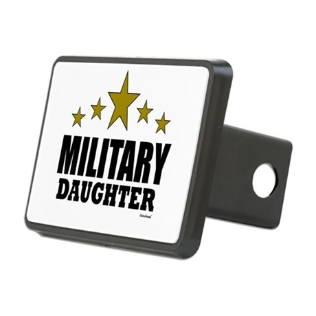 Military Daughter Rectangular Hitch Cover