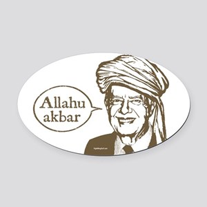 Traitor Jimmy Oval Car Magnet