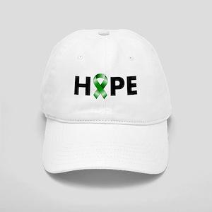 Green Ribbon Hope Cap