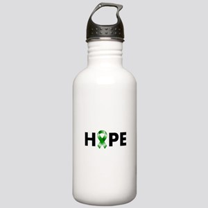 Green Ribbon Hope Stainless Water Bottle 1.0L