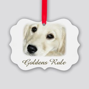 Goldens Rule Picture Ornament