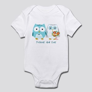 Owls Wedding Infant Bodysuit