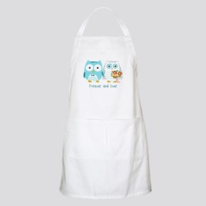 Owls Wedding Apron