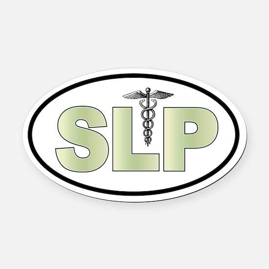 SLP Neutrals Oval Car Magnet