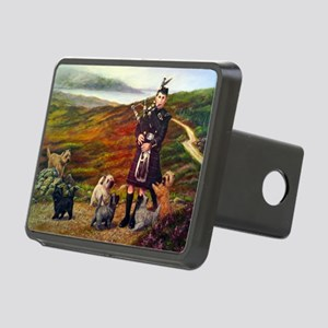 Cairn Terrier Rectangular Hitch Cover