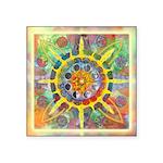 Celtic Stargate Square Sticker 3