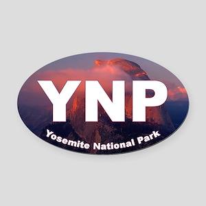 Yosemite Logo Oval Car Magnet