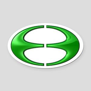 Jubilea Simbolo (Jubilee Symbol) Oval Car Magnet