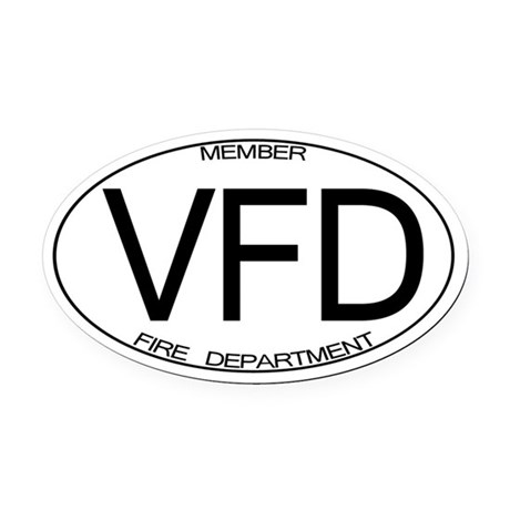 VFD Oval Car Magnet