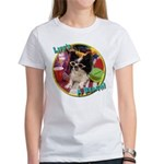 Lifes a beach papillon Women's T-Shirt