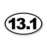 13.1 Oval Car Magnets