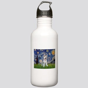 Starry-Siberian pup Stainless Water Bottle 1.0L