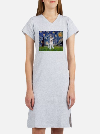 Starry-Siberian pup Women's Nightshirt