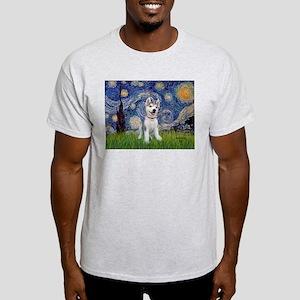 Starry-Siberian pup Light T-Shirt