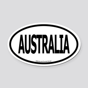 Oval Car Magnet
