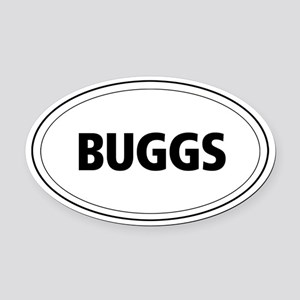 Buggs Oval Car Magnet