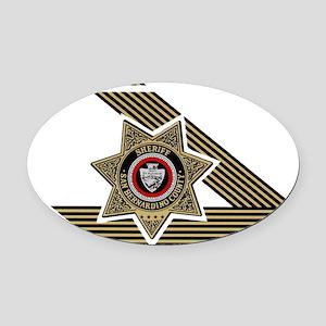 Sheriff San Bernardino Oval Car Magnet