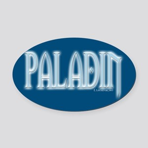 Paladin Oval Car Magnet