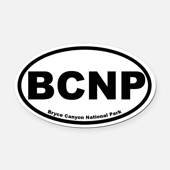Bryce Canyon National Park Oval Car Magnet