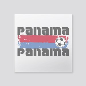 "Panama Soccer Square Sticker 3"" x 3"""