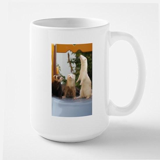 Adorable Trio Large Mug