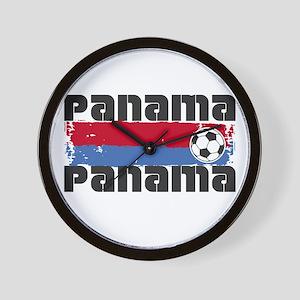 Panama Soccer Wall Clock