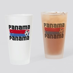 Panama Soccer Drinking Glass