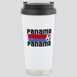 Panama Soccer Stainless Steel Travel Mug
