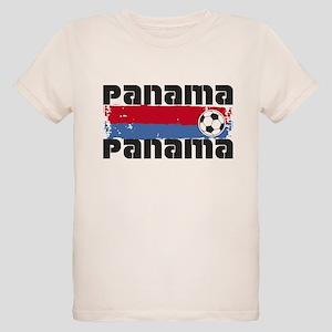 Panama Soccer Organic Kids T-Shirt