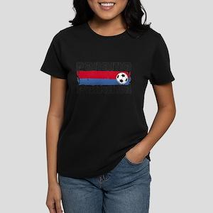 Panama Soccer Women's Dark T-Shirt
