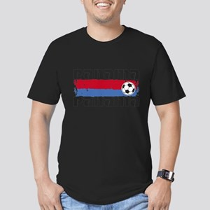 Panama Soccer Men's Fitted T-Shirt (dark)