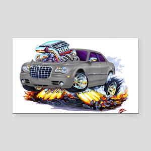 Chrysler 300 Silver/Grey Car Rectangle Car Magnet