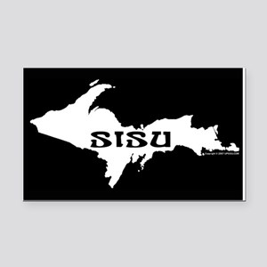 SISU - Michigan's Upper Penin Rectangle Car Magnet