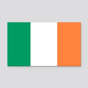 Irish Flag Rectangle Car Magnet