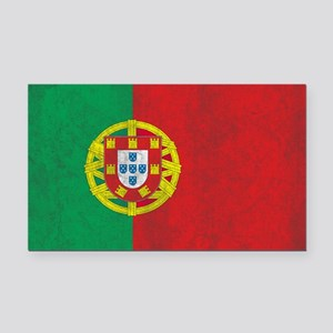 Vintage Portugal Flag Rectangle Car Magnet