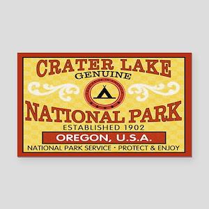 Crater Lake National Park Rectangle Car Magnet