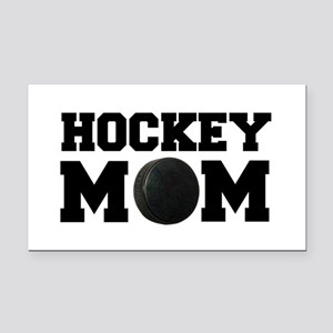 Hockey Mom Rectangle Car Magnet