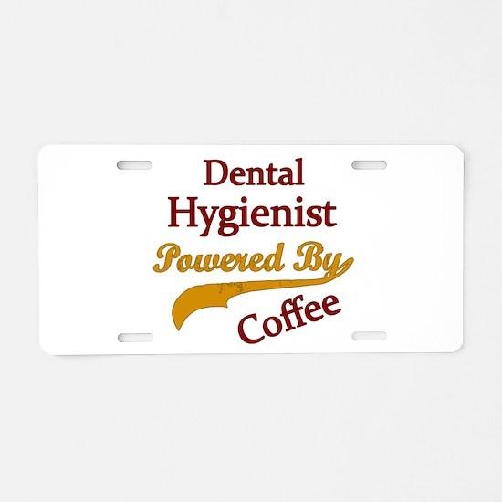 Cute Hygienist Aluminum License Plate